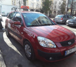 Kia Rio - OttoAuto | Școala de Șoferi București